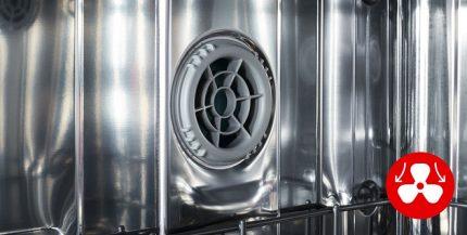 Trauku mazgājamās mašīnas žāvēšanas sistēma