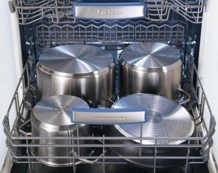 Dishwasher capacity