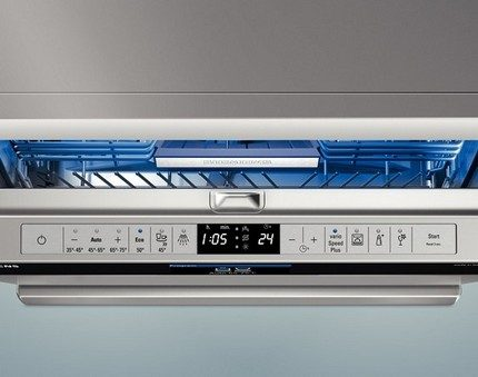 Dishwasher with display