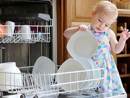 The degree of cleanliness of the washed dishes