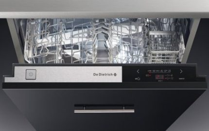 Touch Dishwasher Control