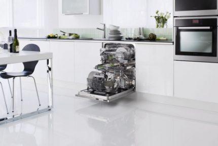 Dishwasher selection