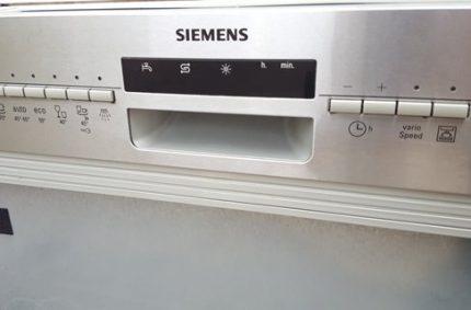 VarioSpeed Plus - quick wash system