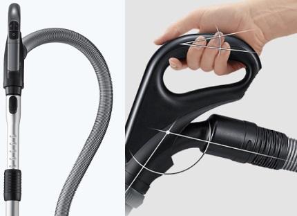 Samsung vacuum cleaner handle