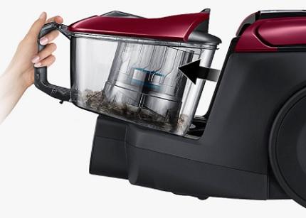Vacuum cleaner dust collector
