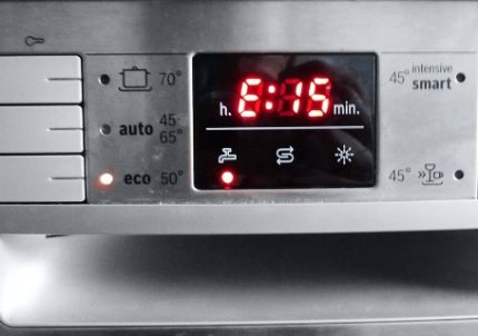 Error E15 in the dishwasher Bosch