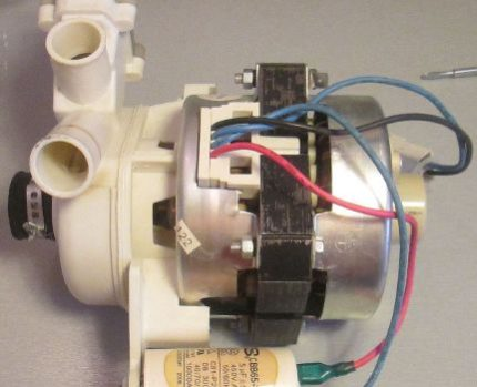 Dishwasher pump
