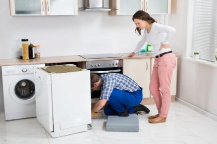 Dishwasher connection