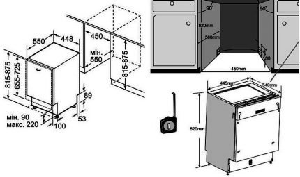 Dishwasher Installation Diagram