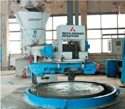 Ring making equipment