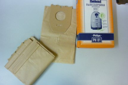 Replaceable Philips Bags