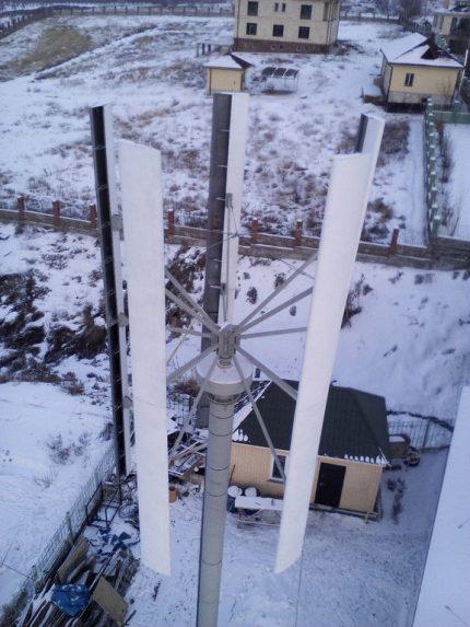 Vėjo generatorius SAV