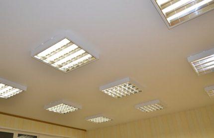 Raster lights en tissu extensible