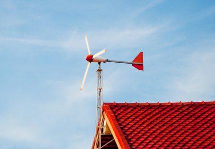 Buitinė vėjo jėgainė