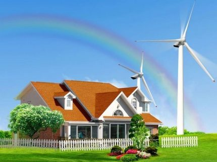 Namų vėjo generatorius