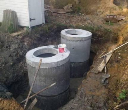 Application of concrete rings