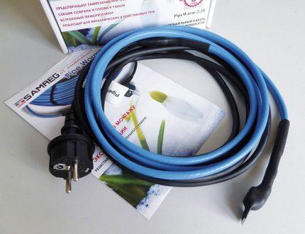 Izturīgs sildīšanas kabelis