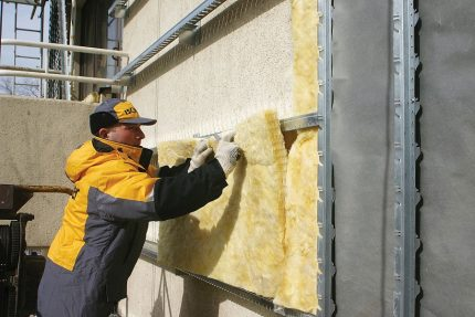 Outdoor version of home insulation