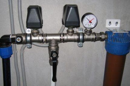 Water pressure switch