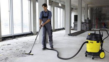 The industrial vacuum cleaner an irreplaceable assistant