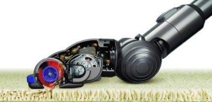 Turbo brush for vacuum cleaner