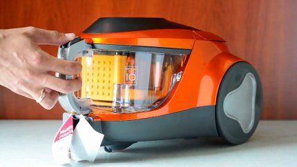 Vacuum cleaner dust collector LG