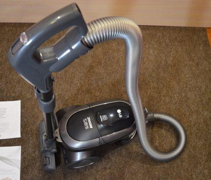Vacuum cleaner power regulator LG