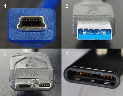 USB 3.x Connectors