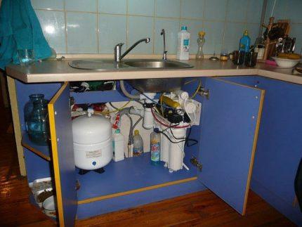 Filtre de réservoir de stockage