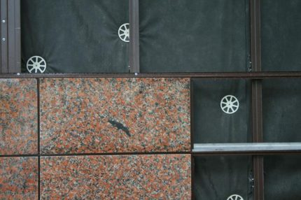 Ventilated facade technology