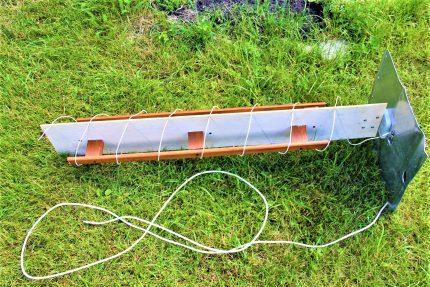 Spiral antenna assembly