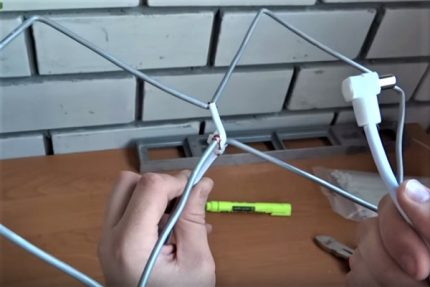 Aluminum biquad antenna