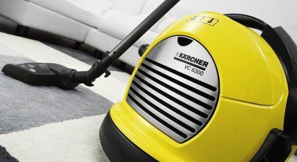 Vacuum cleaner model Karcher