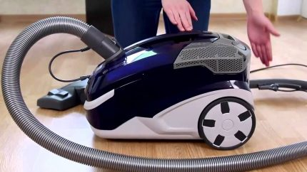 Samsung Cleaning Technology Design