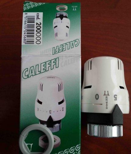 Caleffi brand thermal head
