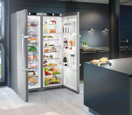 Liebherr brand refrigerator