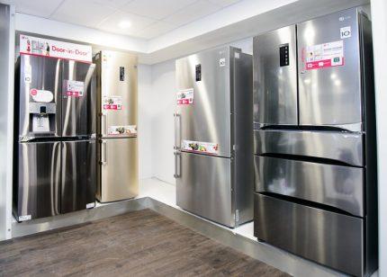 Range of refrigerators LG