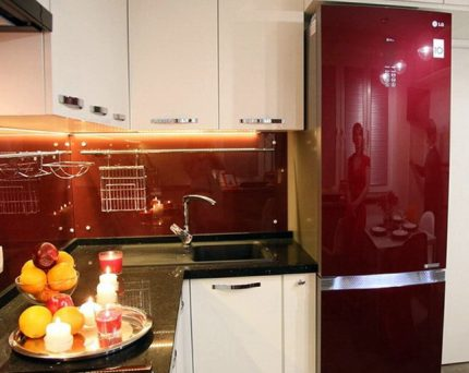 One of the models of LG brand refrigerators