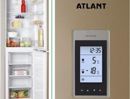 Atlant brand refrigerators