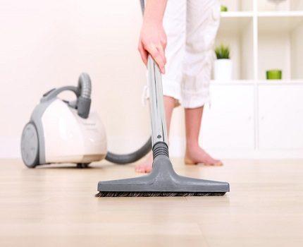 Vacuum cleaner power