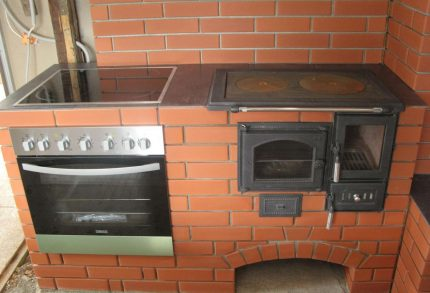Stove with stove