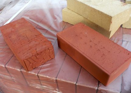 Brick for the stove