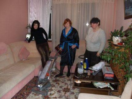 Vacuuming Kirby