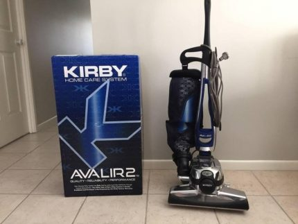 Vacuum cleaner Kirby Avalir2 with company packaging