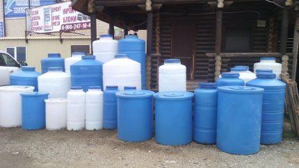 Sealed Water Tanks