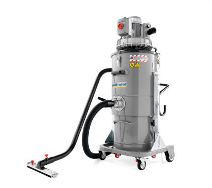 Vacuum cleaner for industry