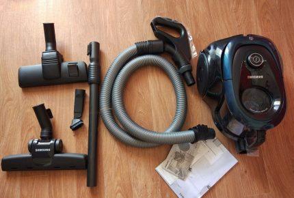 Samsung Vacuum Cleaner Options
