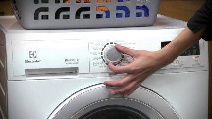 The choice of washing machine modes