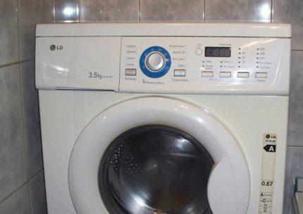 Washing machine from LG