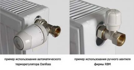Automatic and manual thermostat